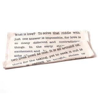 'What is Love' Cotton Tea Towels (Set of 2)