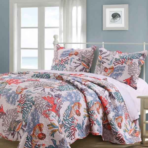 Shop Barefoot Bungalow Atlantis Quilt Set Free Shipping Today Mesmerizing Atlantis Bedroom Furniture Decor