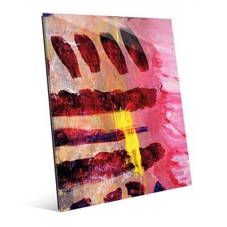 Kouara Abstract Wall Art Print on Glass