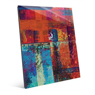 Kachidoki Abstract Wall Art Print on Glass