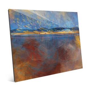 'Hypersonic' Glass Wall Art Print