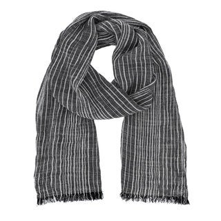 Stripe Oblong Scarf