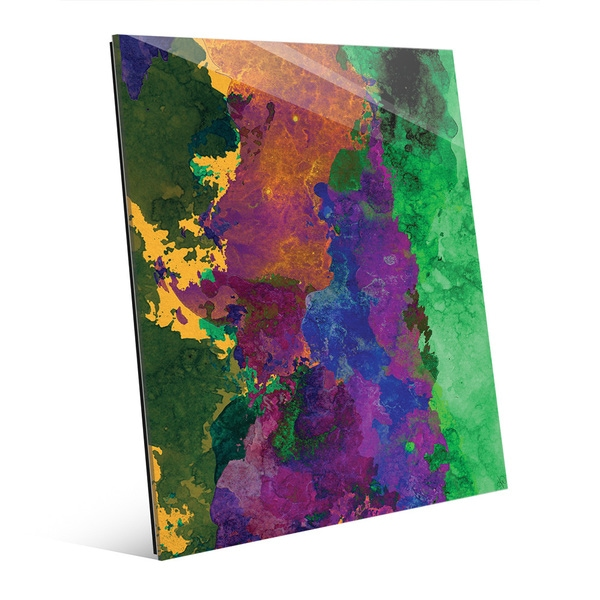 'Five Thousand BC' Glass Wall Art Print
