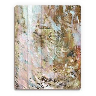 'Wild Waterfall' Wooden Wall Art Print