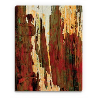 'Lasada' Wooden Wall Art Print