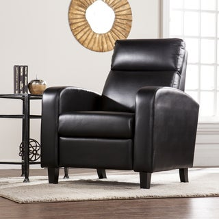 Harper Blvd Bedford Faux Leather Two-Step Recliner - Black