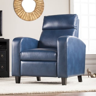 Harper Blvd Bedford Faux Leather Two-Step Recliner - Blanche Royal