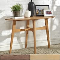 Rona Wood Entryway Console Tables iNSPIRE Q Modern