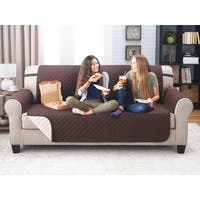 Reversable Eco-friendly Quilted Sofa Cover