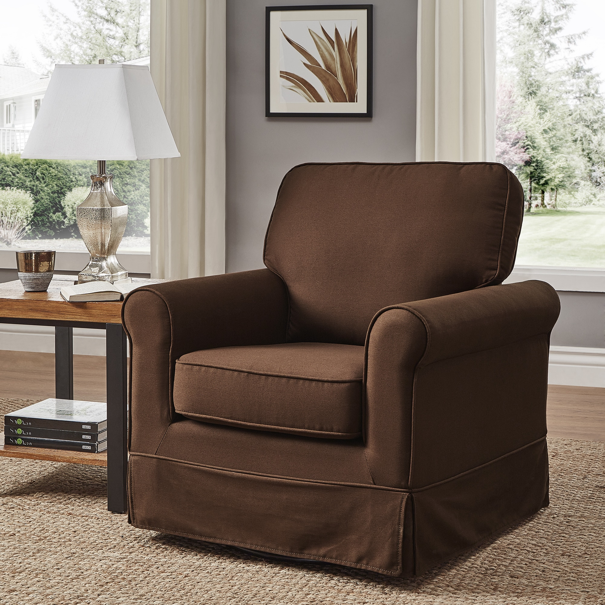 Accent Chairs Swivel Living Room Chairs For Less Overstockcom