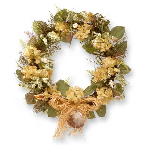 National Tree Company 32-inch Seashore Wreath