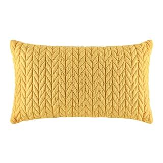 Five Queens Court Catori Banana Boudoir Throw Pillow