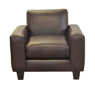 Made to Order Columbia Genuine Top Grain Leather Arm Chair