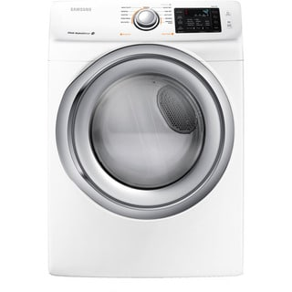 Samsung 27 Inch Front Load Washer and Dryer Pair -white