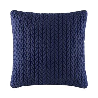 Five Queens Court Catori Indigo Square Throw Pillow