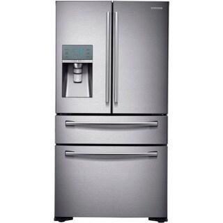 """Samsung 24 Cu.Ft. 36"""" Counter Depth 4 Door French Door Refrigerator"""