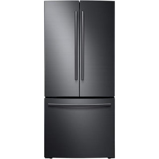 "Samsung 21 cu. Ft. Refrigerator, 30"" No Dispenser - Black Stainless Steel"