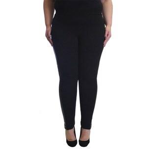 Krazy Love Women's Rayon-blend Plus-size Stretchy Leggings