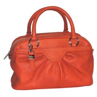 Johanna Leather Satchel Handbag