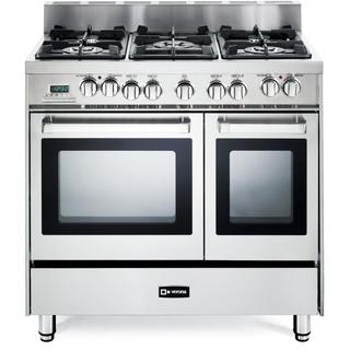 Verona 36 Inch Pro-Style Dual-Fuel Double Oven Range