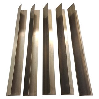 Long Lasting Stainless Steel Flavorizer Bars for Weber Grills (Pack of 5)