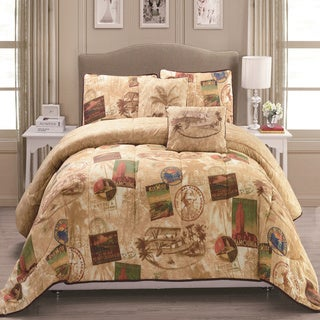 Panama Jack Vintage Travel 5-piece Comforter Set