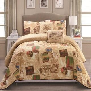 Panama Jack Vintage Travel 5-piece Comforter Set