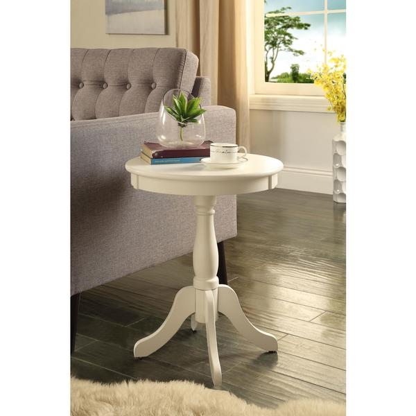 Acme Furniture Alger Wood Side Table. Opens flyout.