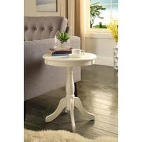 Acme Furniture Alger Wood Side Table