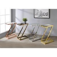 Acme Furniture Laina Multicolor Contemporary Side Table
