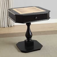 Acme Furniture Red and Black Bishop Game Table