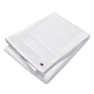 Tommy Hilfiger Signature White 6-Piece Bath Towel Set