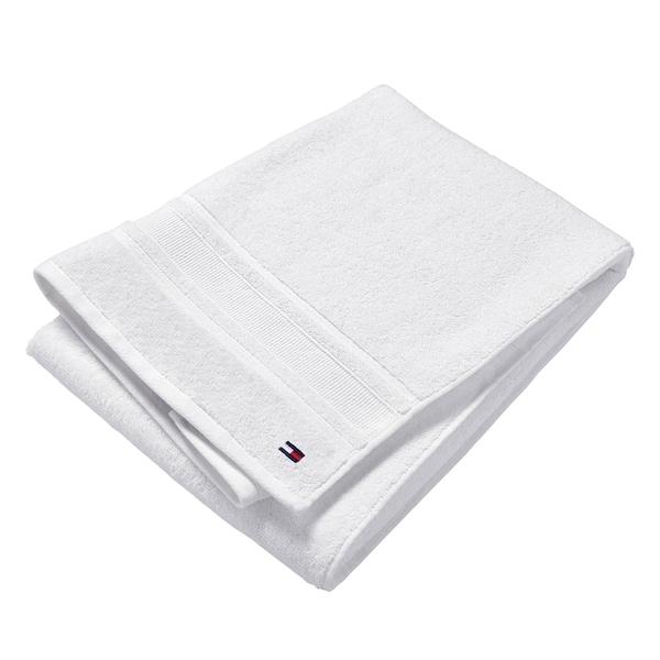 Tommy Hilfiger Signature White 6-Piece Towel Set