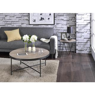Acme Furniture Bage Weathered Grey Oak Coffee and End Table Set
