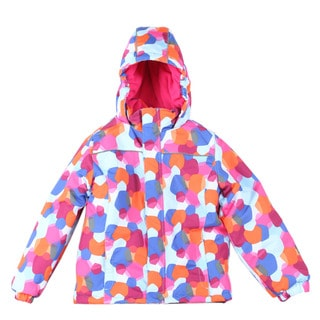 Pulse Preschool Girl's Blue Dots Snow Day Jacket