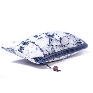 Handmade Hand Batiked Gray Clutch Purse - World Peaces (Ghana)