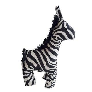 Handmade Safari Stuffed Animal - Zebra - Imani Workshops (Kenya)