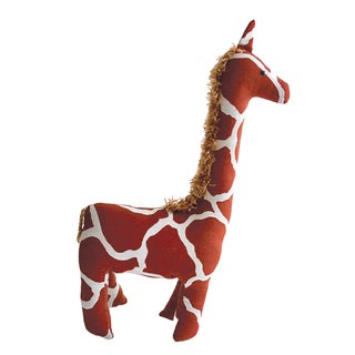 Handmade Safari Stuffed Animal - Giraffe - Imani Workshops (Kenya)