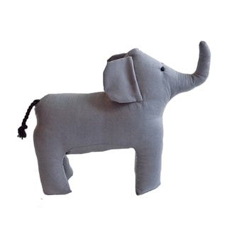 Handmade Safari Stuffed Animal - Elephant - Imani Workshops (Kenya)