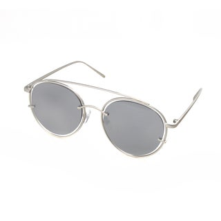 Hot Optix Women's Round Metal Sunglasses with Floating Lenses