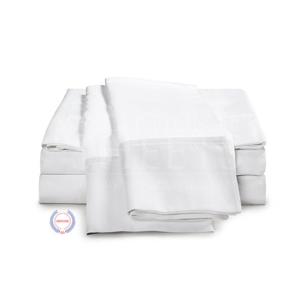Kotter Home 400 Thread Count 100 Percent Long Staple Cotton Sheet Set