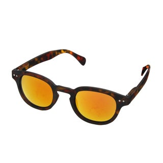 Hot Optix Classic Unisex Retro Sunglasses with Mirrored Lens