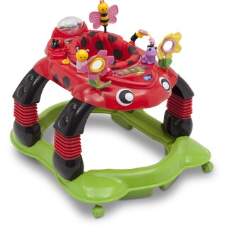 Delta Children Sadie the Ladybug Lil' Play Station 3-in-1 Activity Walker - Multi