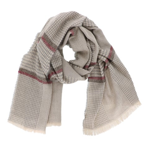 Plaid Checkered Blanket Scarf