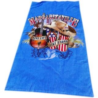 Margaritaville 'Live Life Like A Song' Beach Towel