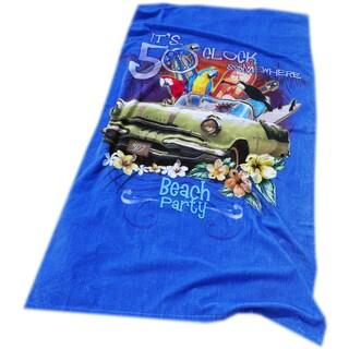 Margaritaville Beach Party Beach Towel