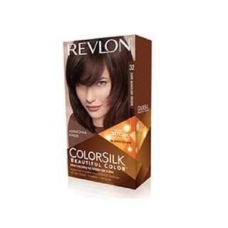 Revlon ColorSilk Hair Color Dark Mahogany Brown 32