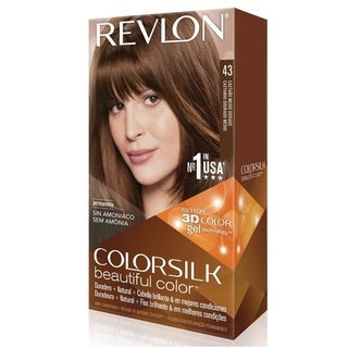 Revlon ColorSilk Hair Color Medium Golden Brown 43