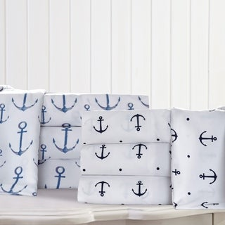 Anchors Microfiber Bed Sheet Set