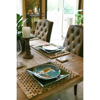 Teak Placemats IPM001 (Set of 2)